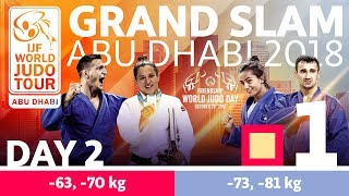 Judo Grand-Slam Abu Dhabi 2018: Day 2 - Day 2: Tatami 1