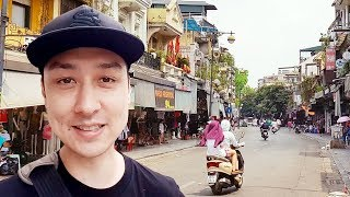 Walking Tour of Hanoi's Old Quarter | LIVESTREAM VIETNAM #3