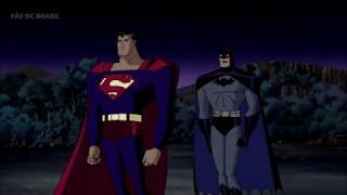 SUPERMAN E BATMAN VS DARKSEID I FÃS DC BR
