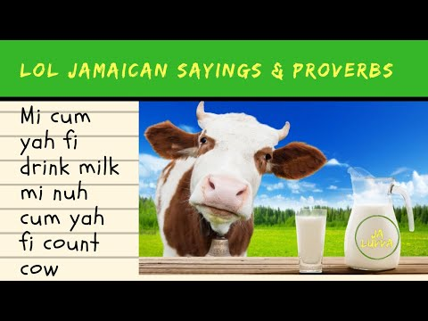 Laugh Out Loud Jamaican Sayings And Proverbs Series : #2