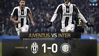 Juventus-inter 1-0 sintesi hd - highlights all goals