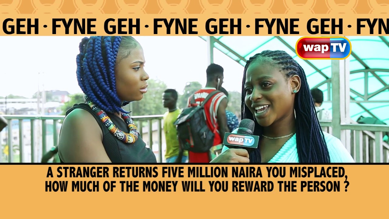 A Stranger Returns Five Million Naira You Misplaced, How much Will You  Reward the Person?