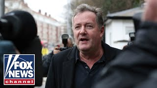 Piers Morgan demands apology from 'The Talk' hosts