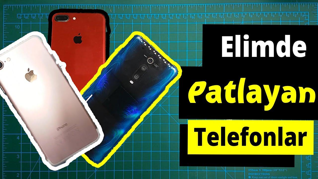 ELİMDE PATLAYAN TELEFONLAR 1600₺ | iPhone 7 Plus ve 7, Xiaomi Mi 9T