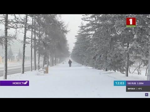На юге России бушуют снегопады