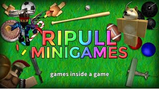 Playing Ripull Minigames (Roblox)
