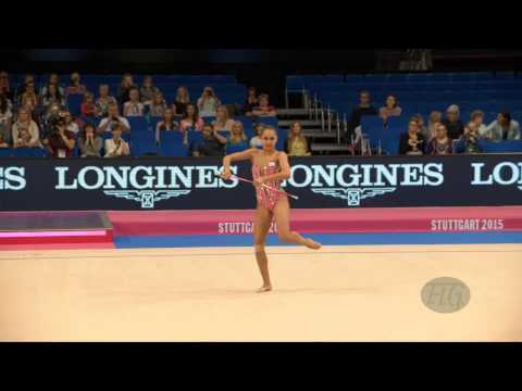 Margarita MAMUN (RUS) 2015 Rhythmic Worlds Stuttgart - Qualifications Clubs
