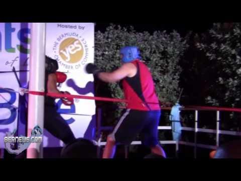 Jeff Sousa Boxing Teresa Perozzi, Sept 5 2012