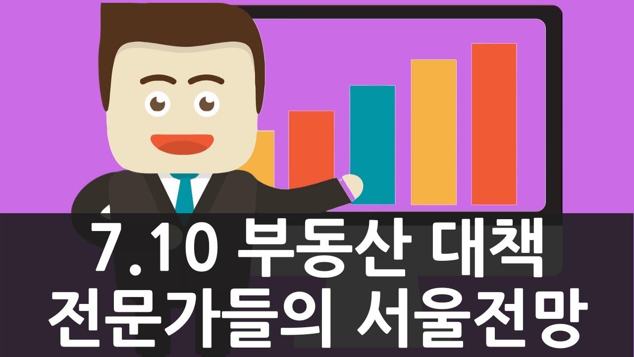 전문가들이 보는 7.10 부동산대책 앞으로의 서울 부동산 전망