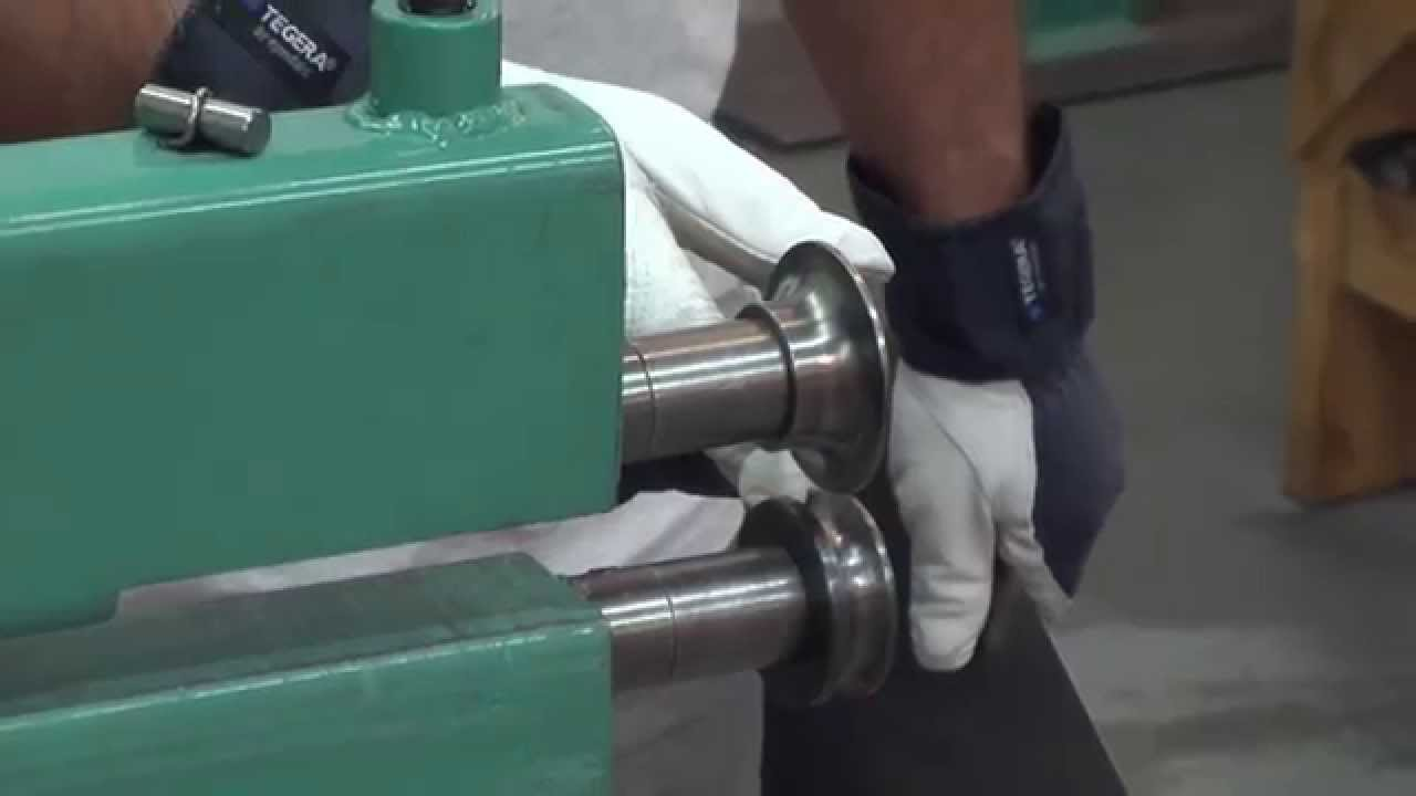 Metal Shaping Bead Roller Die Combinations Pt 1 Youtube