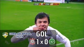 Corinthians 1 x 0 Chapecoense - Copa do Brasil 2018 - Globo HD⁶⁰