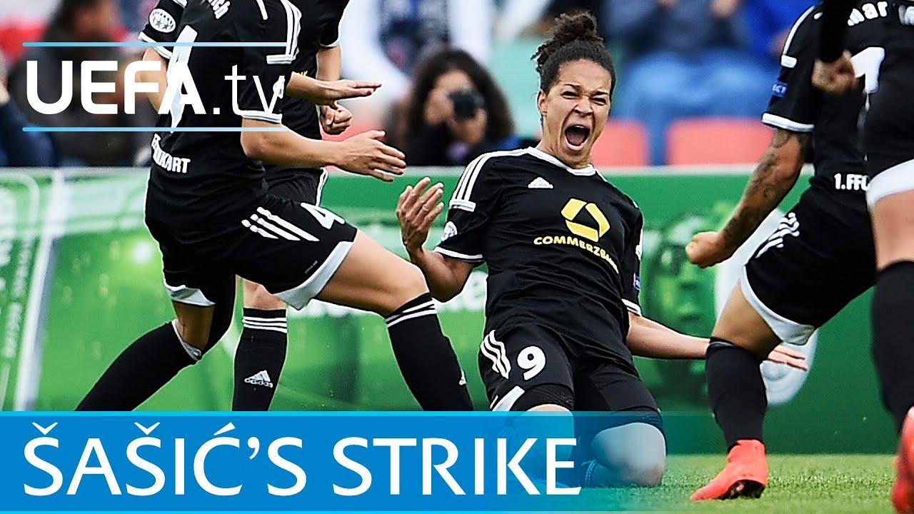 Watch Šašić Women's Champions League final goal: In slow ...