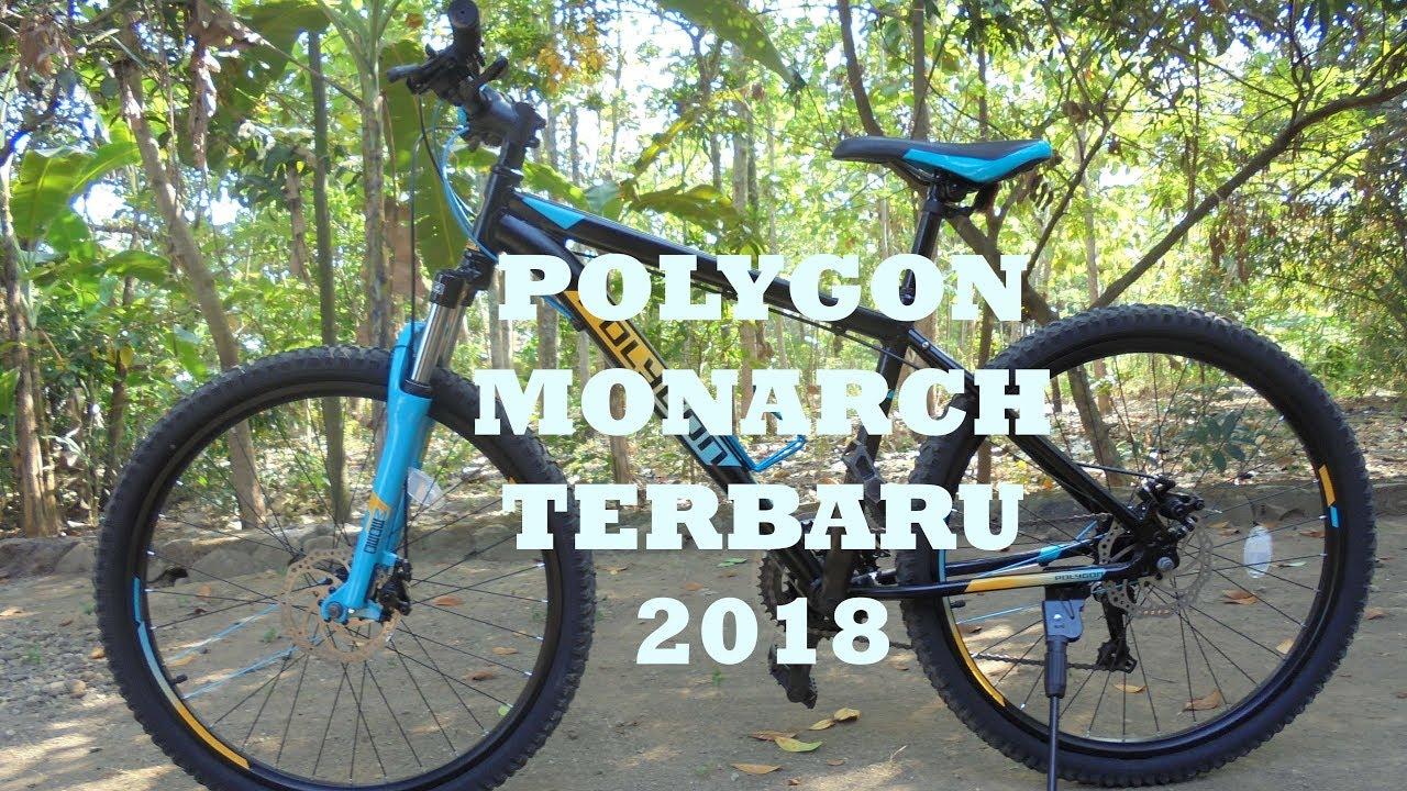 sepeda polygon MONARCH 5 terbaru 2018 YouTube