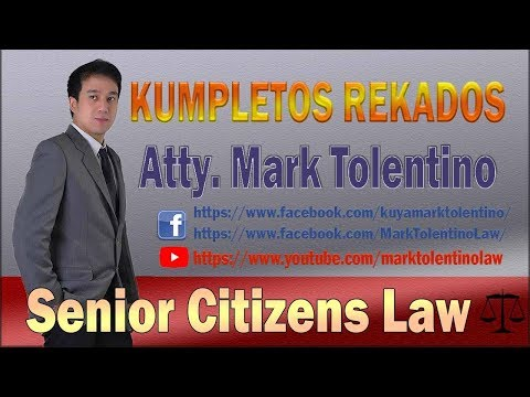 SENIOR CITIZENS LAW