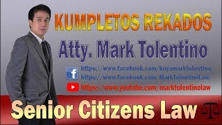 KR: Senior Citizens Law