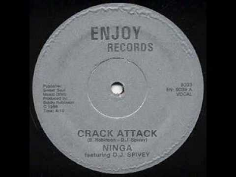 "1986 ""Ninga"" ""Crack Attack"" ""Enjoy Records"""