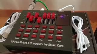 Download lagu Cara menghubungkan soundcard v8 plus ke speaker aktif
