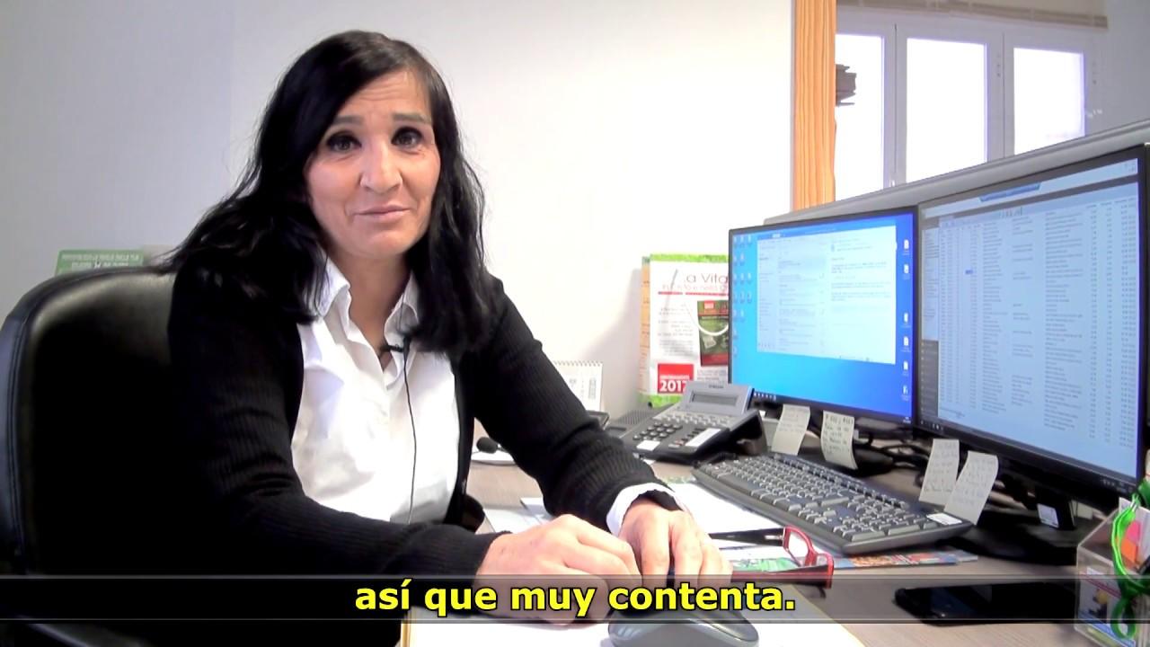 Ver en Youtube el vídeo 'El Contrato Por Talento Fundación ONCE de la Semana'. Casa San Francisco, Ciudad Real. Abre en nueva ventana