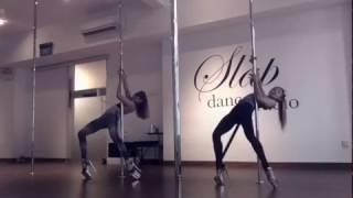 SLAP | BURN IT UP - Pole Dance and Floor Work - Change, In The House of Flies (Deftones)