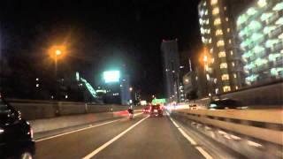 [drive japan]首都高 3号渋谷線 用賀PA-C2中央環状線 四つ木IC thumbnail