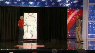 America's Got Talent  2010- Max Winfrey Audition Knife Thrower with Nick Cannon