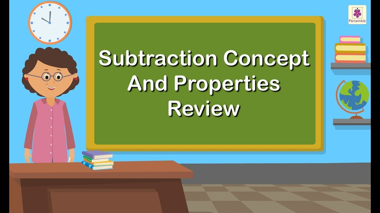 medium resolution of Concept of Subtraction \u0026 Properties of Subtraction   Maths For Kids    Periwinkle - YouTube