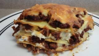Italian Pancake Lasagna Casserole