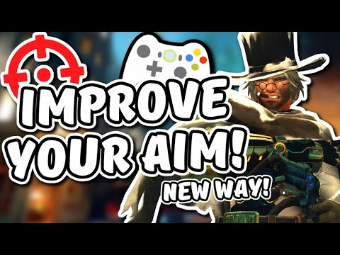 Overwatch - IMPROVE YOUR AIM ON CONSOLE (NEW WAY!)