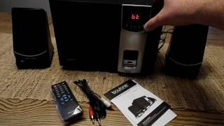 Boytone BT-3107F Bluetooth Speaker System Demo
