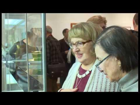 Выставка дулевского фарфора в Москве