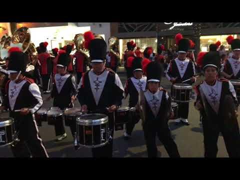 Pittsburg High School Marching Showband- 16sept2017 Walnut Creek Ca.