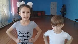 Первый видеоурок по цирковой гимнастики. Разминка .