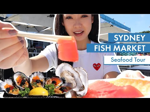 SYDNEY FISH MARKET 2020 | Food Tour | Fresh Seafood In Sydney | Tips When Visiting