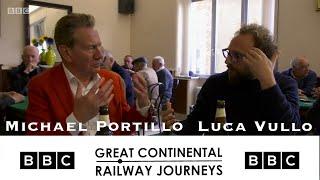 Luca Vullo on BBC teaches Italian gestures to Michael Portillo