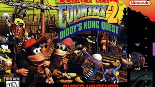 [HD] SNES Longplay (№1) - Donkey Kong Country 2: Diddy