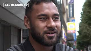 All Blacks hit the streets of Tokyo