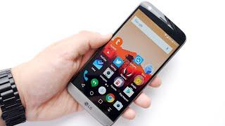 Обзор LG G5 (Qualcomm 820): распаковка, дисплей, производительность