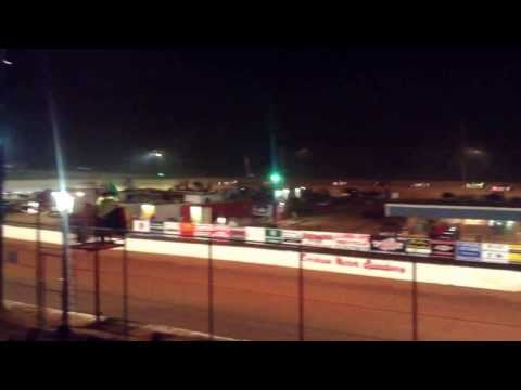 Cochran Motor Speedway, super street feature race May 25th 2013, Johnnie Tucker Jr winner!