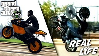 GTA 5 VS REAL LIFE 2 ! (fun, fail, stunt, ...)