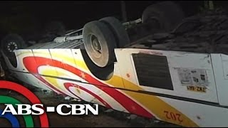 3 dead in bus-truck collision in Quezon