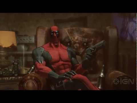 VG247.ru - Deadpool The Game - SDCC 2012 Trailer (русские субтитры)