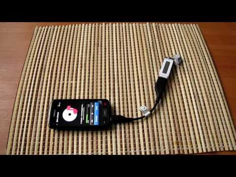 Nokia C6-01 USB - Хост