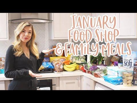 JANUARY FOOD SHOPPING HAUL & MEAL IDEAS | KATE MURNANE