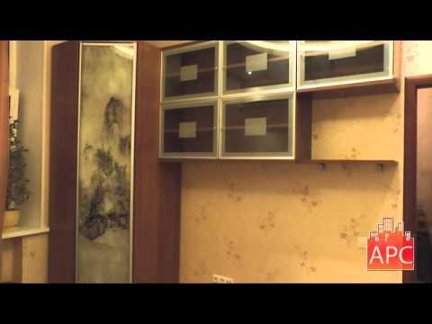 Угловой шкаф с полками для спальни под заказ