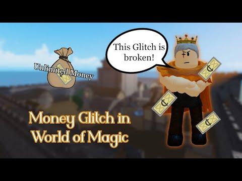 Money Glitch - World of magic Roblox (Easy & Fast)