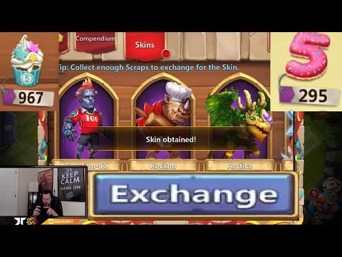 JT's Free 2 Play 6 NEW Hero Skins Anniversary Event Castle Clash