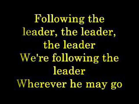 Following the Leader lyrics