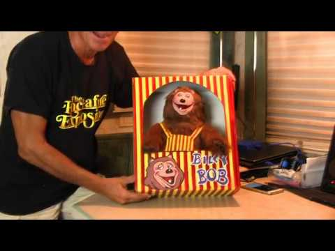 Billy Bob Prototype #4 Reveal ** Unboxing ** The Rock-afire Explosion