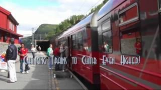 Flam Railway Trip Norway http://www.flaamsbana.no/eng/Index.html