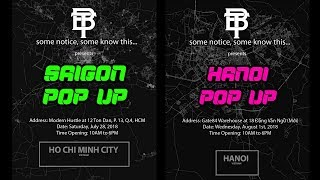 Must Watch Thng B o Pop Up Ca Ben ft. Aarons World Hn Gp Mi Ngi Ti SG v HN